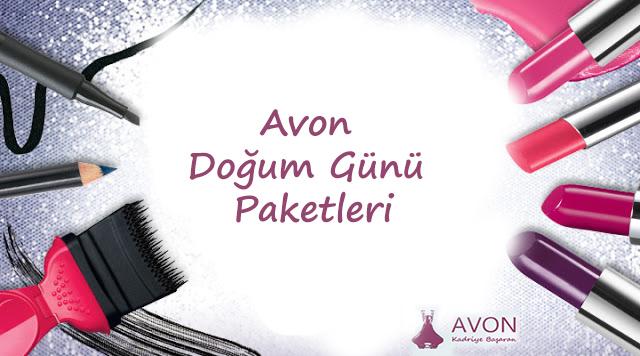 Avon Doğum Günü Paketleri