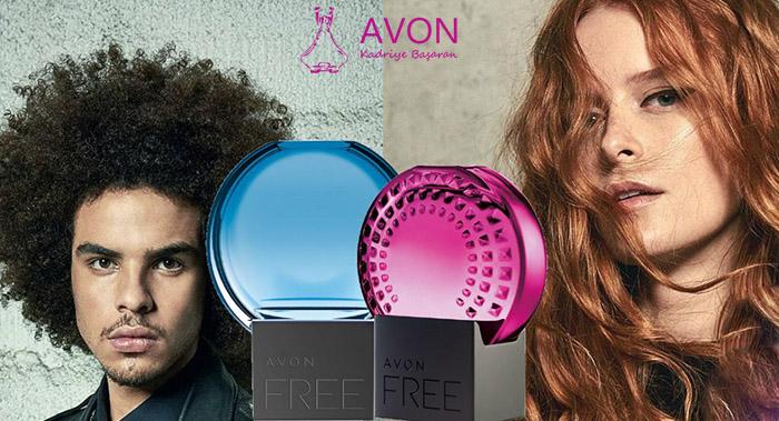 Avon'dan Yeni Parfüm Avon Free