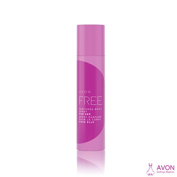 Avon Free Parfümlü Vücut Spreyi