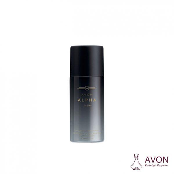 Avon Alpha Erkek Sprey Deodorant