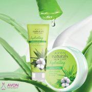 Avon Naturals Aloe ve Pamuk Özlü Yüz Maskesi (2)